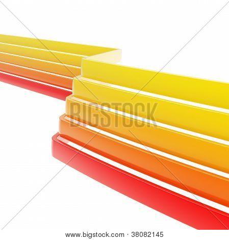Antecedentes de varias cintas dimensionales