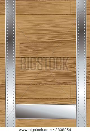 Wood Grain Strap