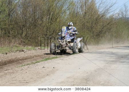 Quad At Race