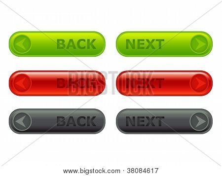 Back - Next Button