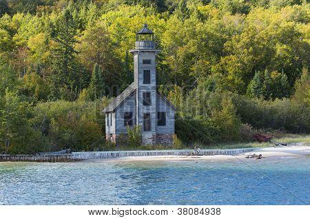 Grand Island E Channel Lighthouse