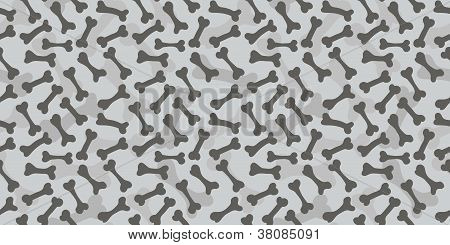 Seamless Bone Texture Pattern Greyscale Background
