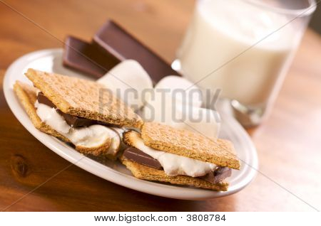 Smores And Milk