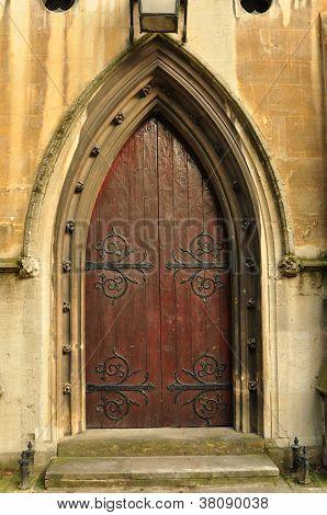 Heath Street Baptist Church Door