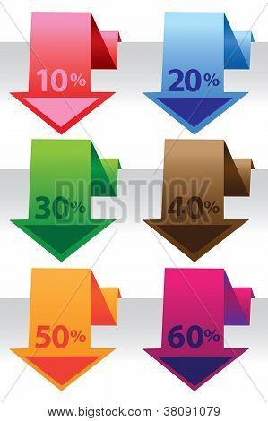Promotional Sale Labels