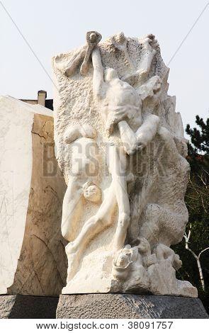 Holocaust Monument, Vienna, Austria