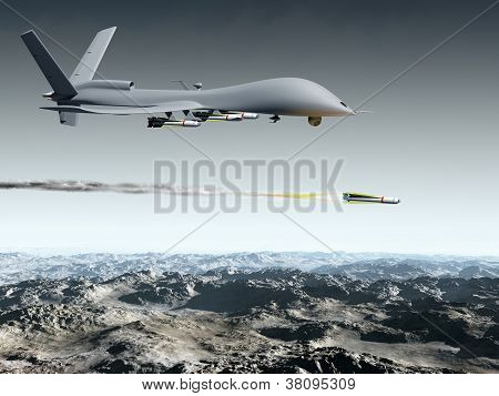 Bekämpfung Drohne