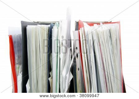 Files In The Office Folders