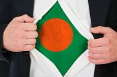 The Bangladesh flag