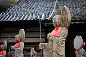 KANAZAWA, JAPAN - MARCH 28: Jizo Bodhisattva in Kanazawa, Japan on March 28, 2012. One of the most b
