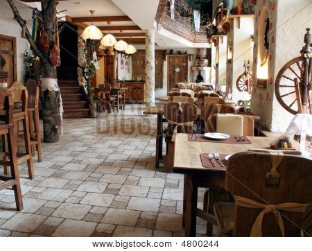Restaurant In Country Style