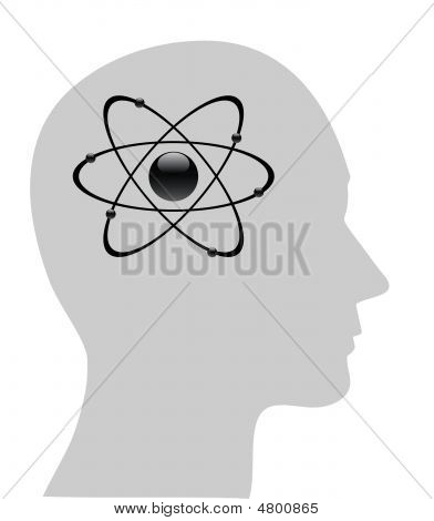 Atomic Symbol In Human Head