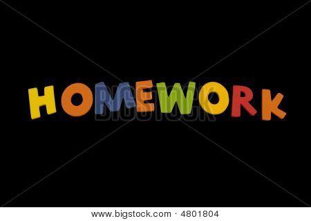 Word Homework
