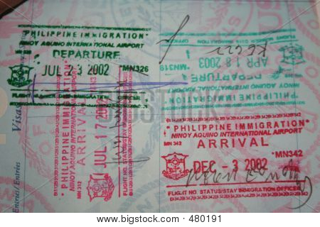 Philippines Travel Stamps