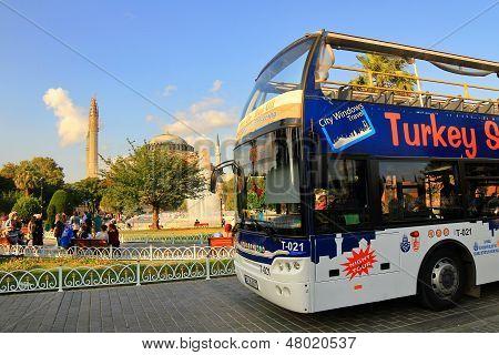 Sight seeing en Turquía