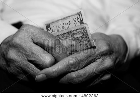 Senior Struggling Financially