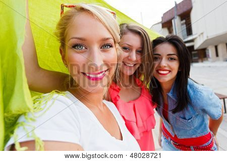 Beautiful Women Enjoying Time Spent Together
