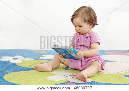 Baby Girl Reads