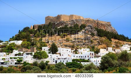 Lindos Rhodes Greece Europe