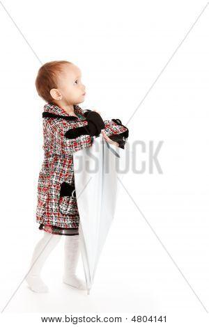 Baby With Umbrella