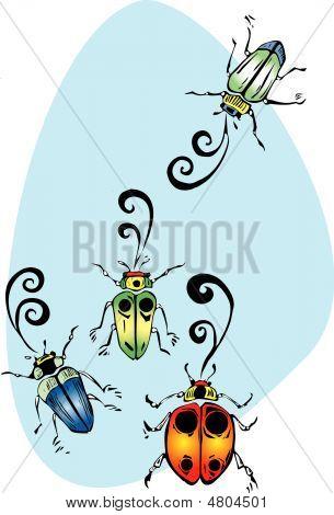 Singing Beetles
