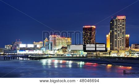 ATLANTIC CITY, NJ - SEPTEMBER 8: Der Promenade 8. September 2012 in Atlantic City, New Jersey. GAMB