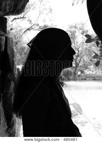 Girl's Silhouette