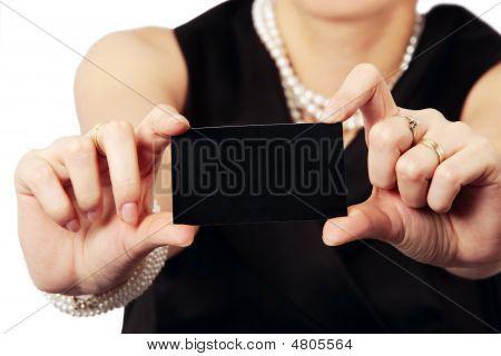 Prezenting Black Card