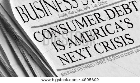 Consumer Debt Is America's Next Crisis
