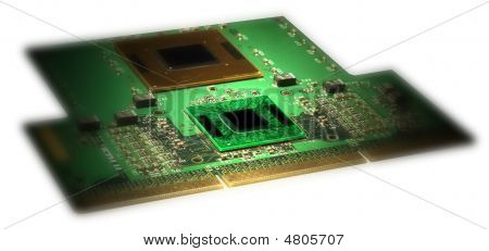 Green Cpu Card