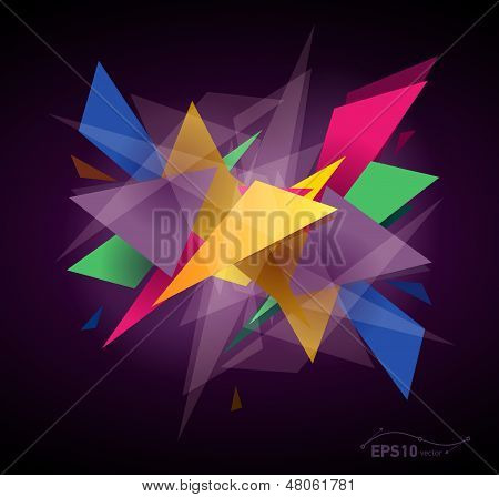 Abstract Graphic Background, Transparent