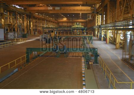 Rolled Sheet Production On Ferrous Metallurgy