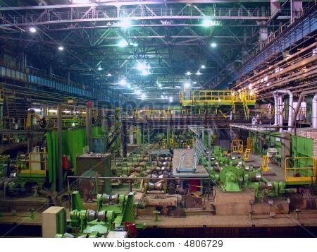 Kaltwalzen Abteilung In Eisen Metallurgie-Fabrik