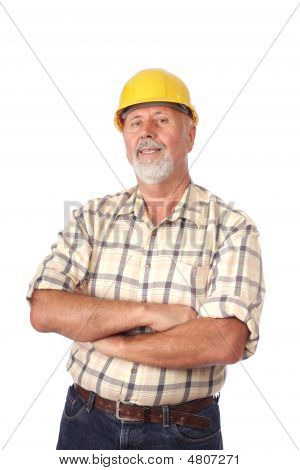 Portrait Of A Builder