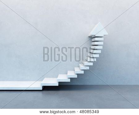 stairs going  upward