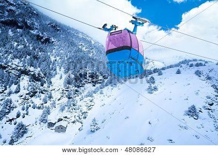 Ski Lift Cable Car