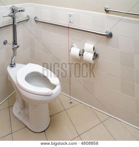 Hospital Patient Bathroom