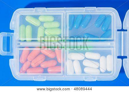 Muitas drogas de cor diferente