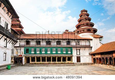 Hanuman Dhoka, old Royal Palace, Durbar Square in Kathmandu,  Nepal.
