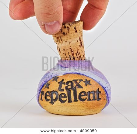 Removing The Tax Repellent Cork