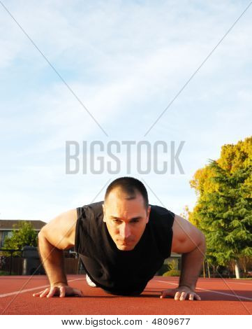Push Ups Outdoors