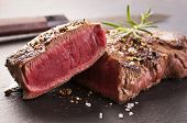 picture of ribeye steak  - beef steak - JPG