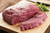 stock photo of porterhouse steak  - beef steak - JPG