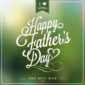 stock photo of moustache  - Happy Father - JPG