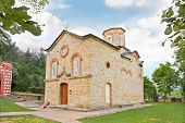 stock photo of velika  - Koporin Monastery at the outskirts of the town of Velika Plana - JPG