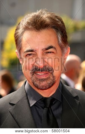 Joe Mantegna  At the 60th Primetime Creative Arts Emmy Awards Red Carpet. Nokia Live Theater, Los Angeles, CA. 09-13-08