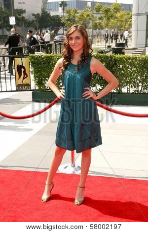 Alyson Stoner  At the 60th Primetime Creative Arts Emmy Awards Red Carpet. Nokia Live Theater, Los Angeles, CA. 09-13-08