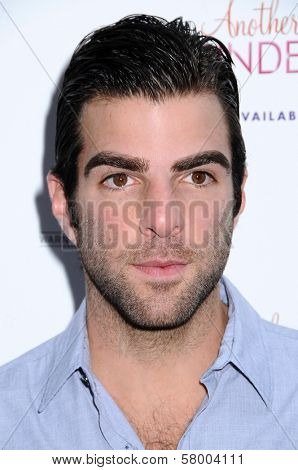 Zachary Quinto  at the Los Angeles Premiere of 'Another Cinderella Story'. Pacific Theaters the Grove, Los Angeles, CA. 09-14-08