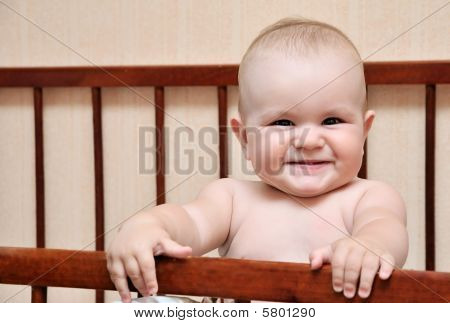 Funny Baby in ihr bad