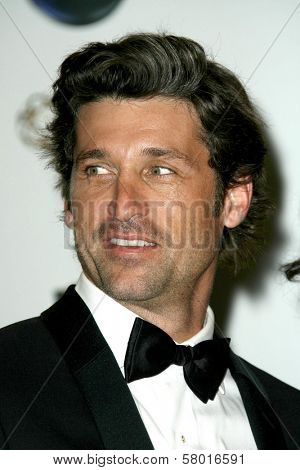 Patrick Dempsey  in the press room at the 60th Annual Primetime Emmy Awards. Nokia Theater, Los Angeles, CA. 09-21-08